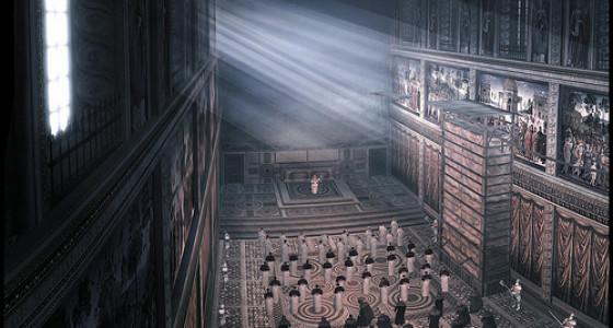 Interno della Cappella Sistina