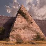 La Piramide Cestia di Roma