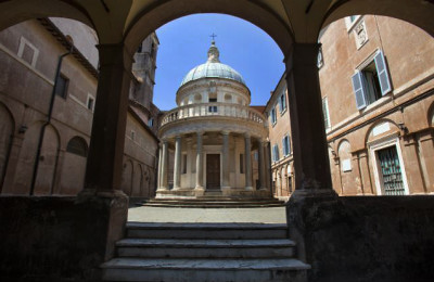 Tempietto del Bramante e San Pietro in Montorio