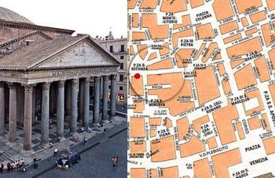 Caccia tesoro bambini pantheon