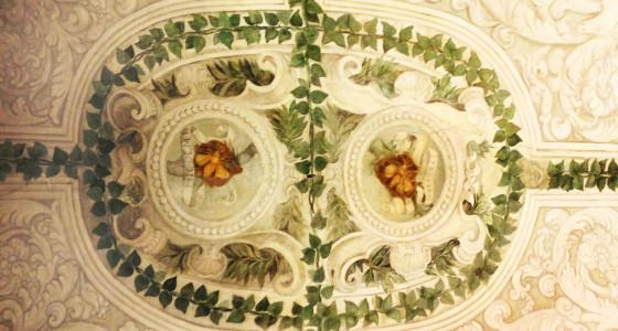 Decorazione con api del Palazzo Barberini