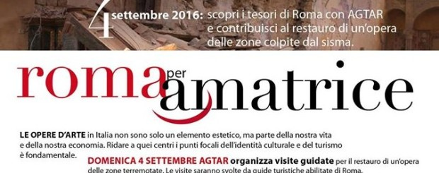 Roma per Amatrice